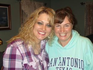 """""""Cousins"""" ~  Jennifer & Jill -  Good to get together and reminisce of sweet days past and also to make NEW memories!!"""
