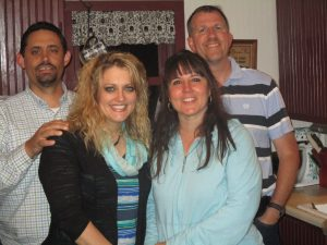 Mark & Tammy Philbrick (parents of 8 boys) were so kind in inviting our family over for dinner one evening!