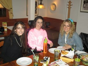 We went out to eat at the Olive Garden...........ymm!!