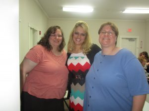 We had a great time seeing many dear friends (above are the Burlew sisters) at Pastor Roscoe's church!