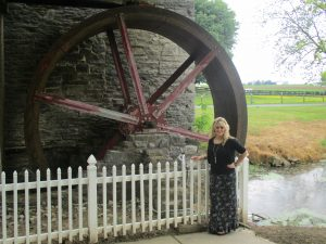 At the campground, was an old mill.  It was SO interesting exploring around.