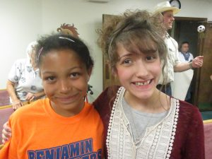 This girl rededicated her life to the Lord in VBS.