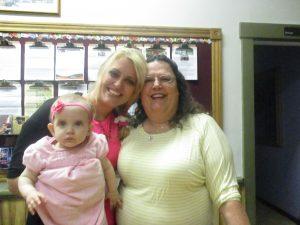 Mrs. Gresham & I enjoyed some sweet time of fellowship.