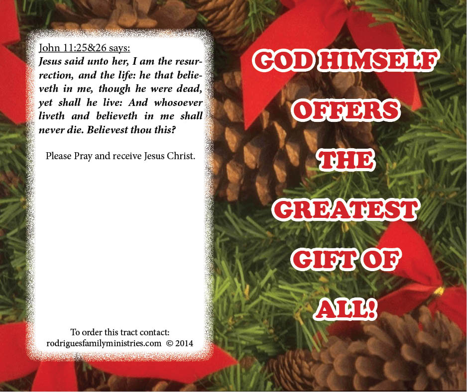 6A - Christmas Tract - Outside