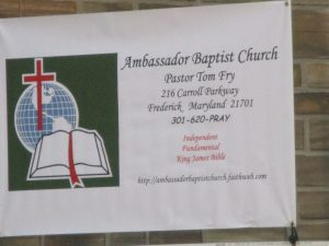 This is the church that hosted this event.