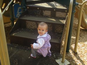 She loved this little park.
