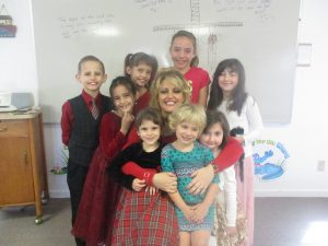 A Sunday School Class I taught 4 days in a row.  I LOVED it because I LOVE children!!