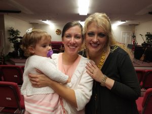 We were excited when Jolynn (my Plexus upline) showed up at Lighthouse (along with her entire family) to hear our family sing.