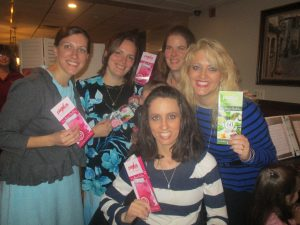Amy and I take Plexus vitamins and all natural supplement!  We LOVE the results of them!  A group of ladies was at the luncheon that also sell Plexus.  We had sweet fellowship!