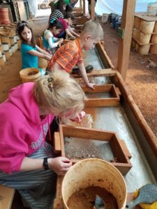 Panning for jewels in North Carolina
