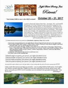 Details on the Retreat!